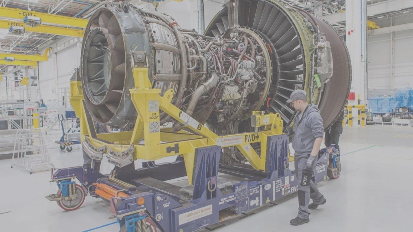 Lufthansa Technik AG: Моделирование вторичного потока