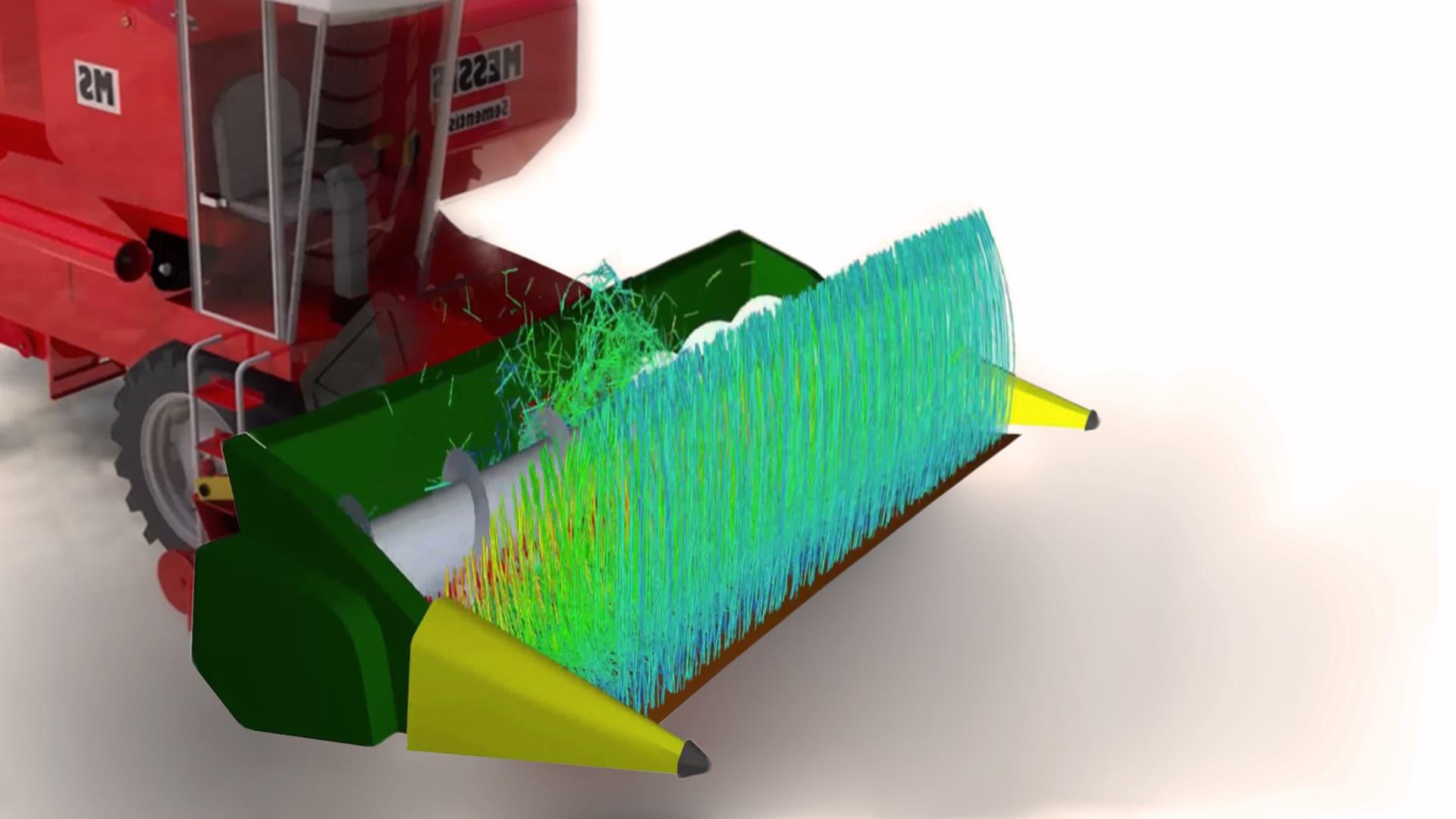 От шерсти животных до колосьев: модель гибких волокон в Rocky позволяет расширить спектр задач, решаемых методом дискретных элементов